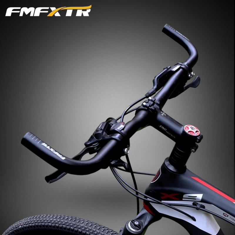 Grips 25.4//31.8*560mm MTB XC Road Bike Riser Bar Handlebar Integrated Bar ends