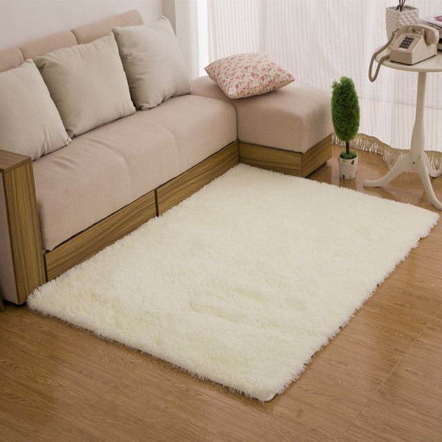 1Pcs Fashion 4.5cm Thicken Chenille Carpet Super Soft Solid Color  Carpet/Floor Rug/