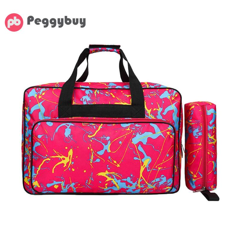 Multifunctional Unisex Sewing Machine Bag Portable Travel Storage Bag Large Capacity Sewing Machine Bags Sewing Tools Hand Bags