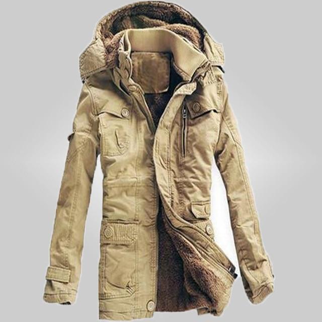 free shipping New Arrivals 2017 Men winter dress  Jacket Winter Down Parka Man Overcoat 3 colors Men cotton-padded jackets