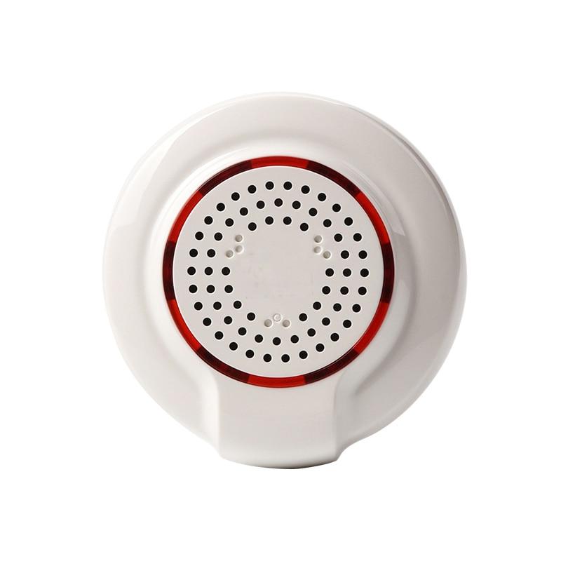 все цены на SmartYIBA 5pcs/lot Z-wave 868MHz Wireless Flash Siren Alarm Sensor Compatible with Z wave Plus Sensor Home Automation Alarm