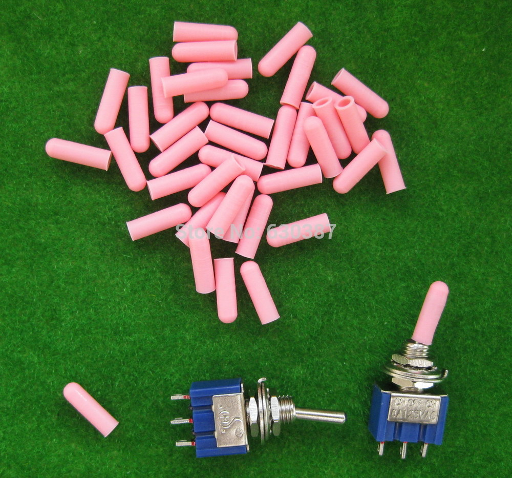 Xpt03p Miniature Pink Toggle Switch Covers New In Model