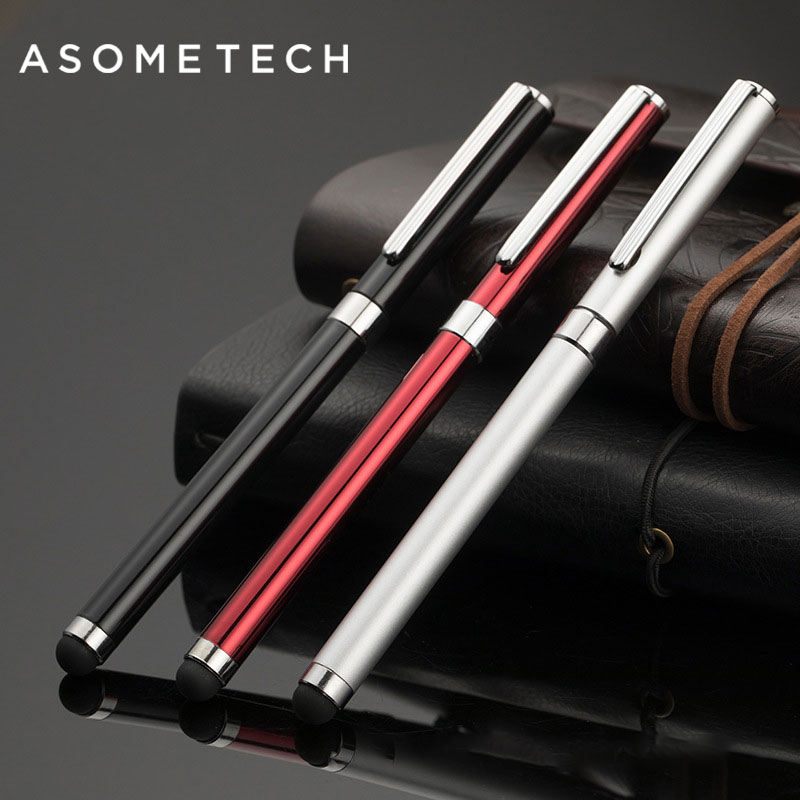 Luxury Universal Tablet PC Smart Phone Stylus Ball Point Pens For IPad Samsung Mipad kindle iPhone Capacitive Touch Screen Pen 6 in 1 multifunction fine point round thin tip touch screen pen capacitive stylus pen for smart phone tablet for ipad for iphone