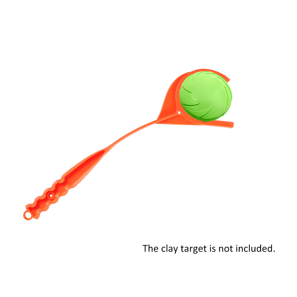 Handheld Clay Target Thrower Disc Thrower Left Right Hand Hunting Accessory