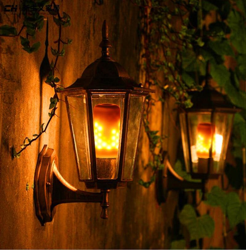E27 2835 LED Lâmpadas de Luz Efeito