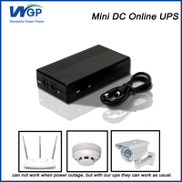 standby power supply dc input ups battery backup mini lithium ion online ups 12V 2A for security system