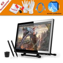 Cheap price 2 Pens UGEE UG-2150 UG2150 Graphic Drawing Tablet 21.5″ IPS Monitor + USB Dada Cable + Scree Protector For Ugee and Huion GT-220