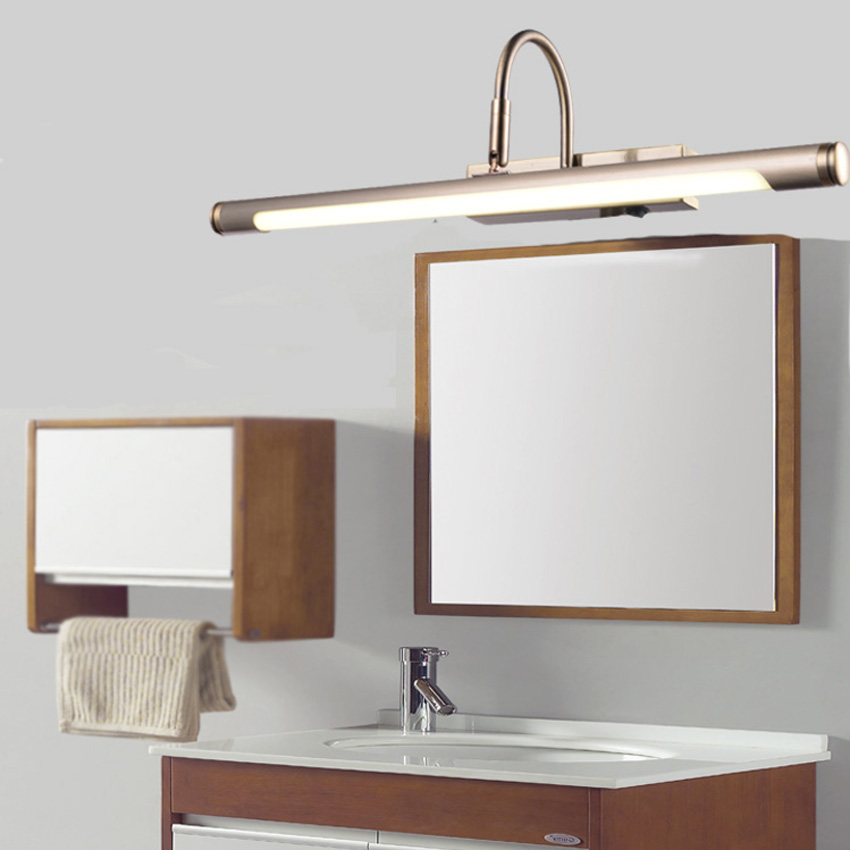 Loft vintage european style mirror lamp led bathroom mirror light loft vintage european style mirror lamp led bathroom mirror light single lamp mirror source with button switch include led lamp in wall lamps from lights aloadofball Image collections