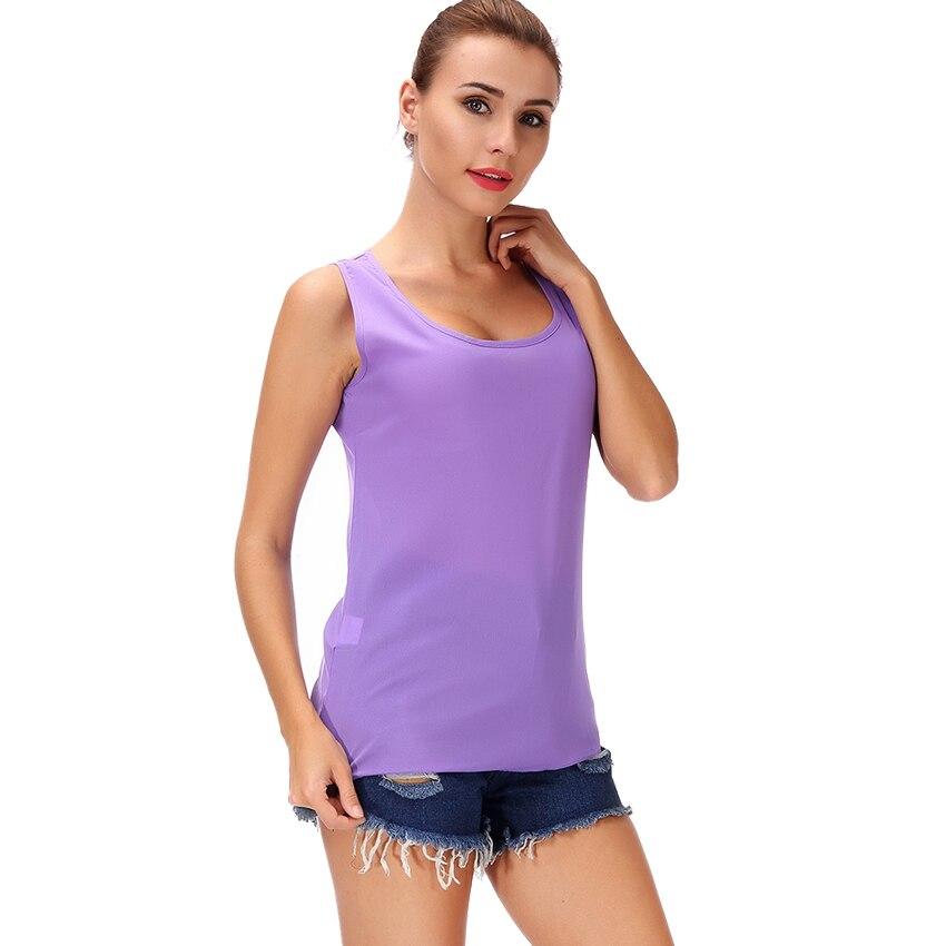 2372910a991 Camisetas deportivas de chifón para mujer