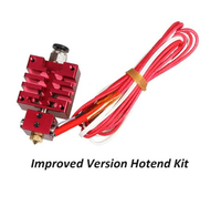 Improved Version Hotend Kit With Thermistor And Heater Red Color 0 4mm 1 75mm Single