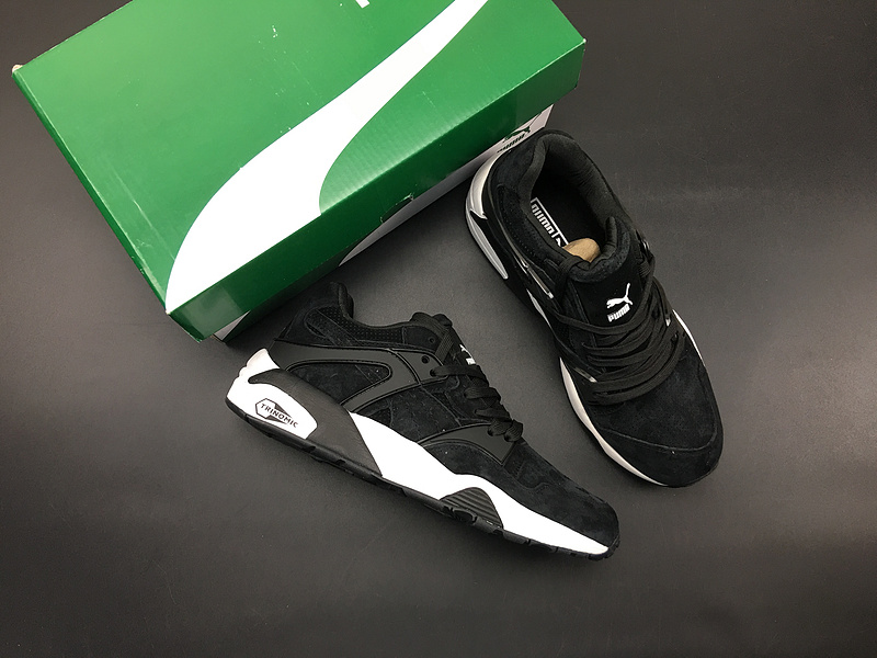 wholesale dealer 16d2d 8725e US $52.99 |PUMA shoes puma with imported pig eight upper yellow black black  green men omen shoes size 37 45-in Badminton Shoes from Sports & ...