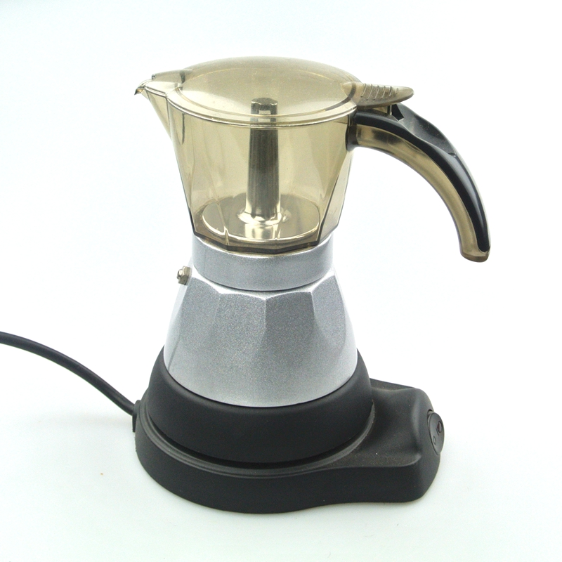 1PC Free Shipping 220V Espresso Coffee Pots Electrical Moka Pot