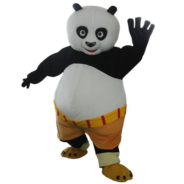 cosplay costumes Adult size Kungfu panda Mascot costume Kung Fu Panda Mascot costume Kungfu panda  sc 1 st  AliExpress.com : adult kung fu panda costume  - Germanpascual.Com
