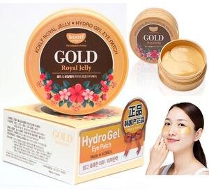 Image 2 - 最高の韓国化粧品koelfゴールド & ローヤルゼリーハイドロゲルアイマスクパッチ60個滑らかでしっかりと皮膚マスクpetitfeeサブブランド