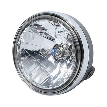 Motorcycle Clear Front Headlight Lamp For Yamaha XJR400 XJR 400