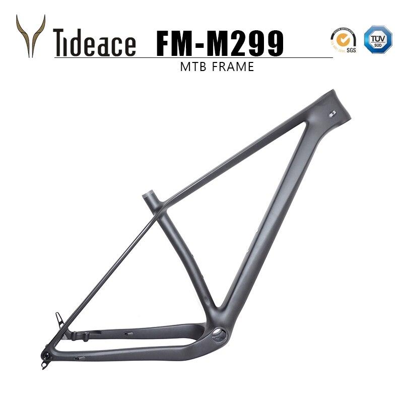 Super light 960g thru axle 148x12 boost MTB carbon frame 29er Plus Mountain Bike Frames 29 max 3.0 tires Bicycle parts