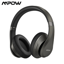 Mpow H20 059 Updated Bluetooth 5.0 Earphone HiFi Deep Bass Wireless Headphone Noise Canceling Mic Headset With 30 Hours Playtime цена