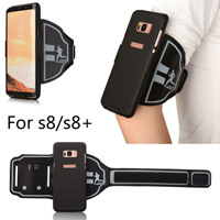 2 In 1 Armband Phone Case Sports Running Arm Band Phone Holder Bag For Samsung Galaxy