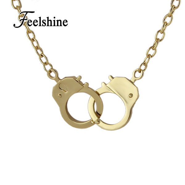 Handcuff Necklace Gold: Online Buy Wholesale Handcuff Necklace From China Handcuff