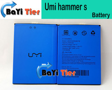 Umi Hammer S Battery 100% New High Quality Li-ion 3200mAH Battery Replacement for Umi Hammer S Smartphone IN STOCK