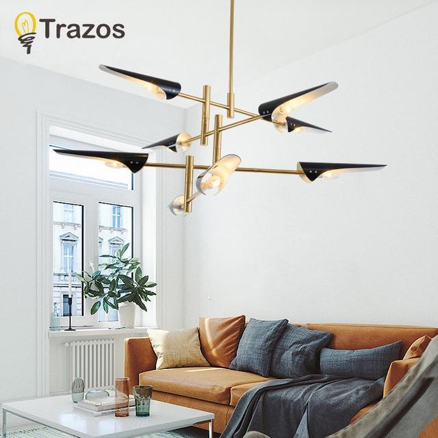 Modern Chandelier lights living room bedroom LED Include luminaria de teto modern Ceiling Chandelier Lighting Fixtures