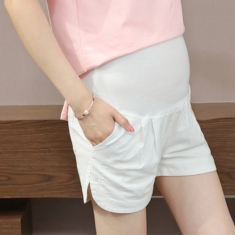d1c84b95c2d2b9 Pregnancy Women Cotton and Linen Belly Care Fashion Maternity Pants For  Pregnant Summer Casual Maternity Pants