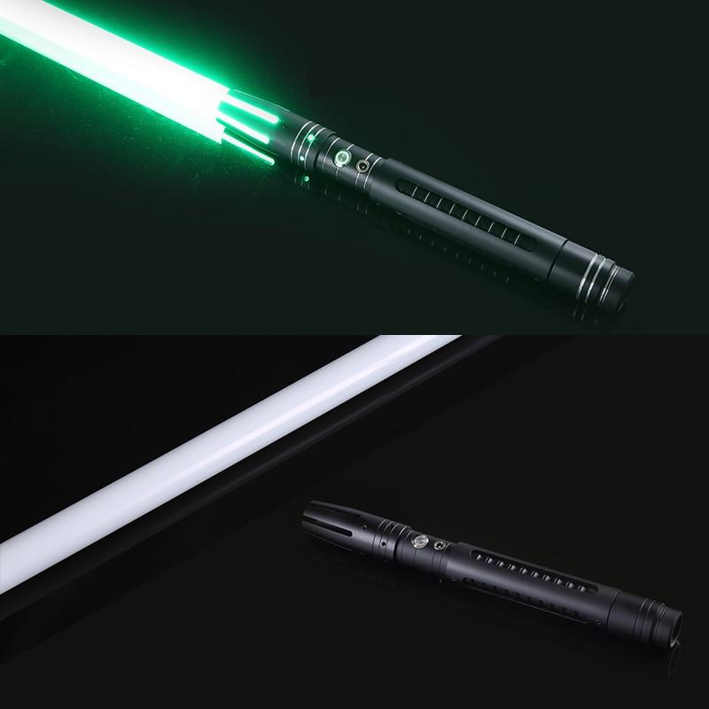 LGTOY 11 couleur sabre Laser épée en métal détachable rvb Laser Cosplay jouet de duel clignotant pour enfants cadeau créatif guerres jouets légers - 2
