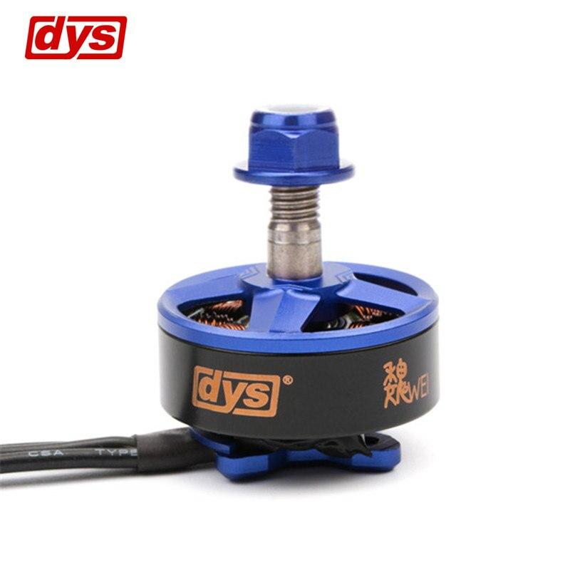 DYS samguk serie Wei 2207 2300kv 2600kv 3-4 s sin escobillas Motores para RC modelo DIY multicopter piezas de repuesto marcos piezas del kit