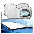 automobile sun shade sun car day and night auto sun shade dazzle visor sun day and night clear view visor para sol 60x130
