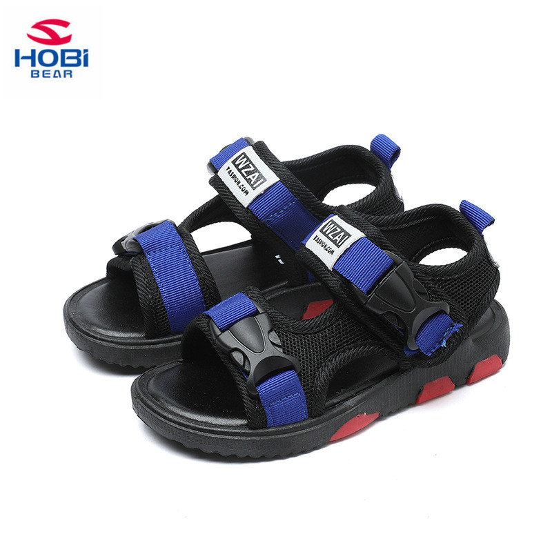 20178 Summer Children Shoes kids Boys Sandals Fashion Rivet Non-Slip Children Sandals Boys Shoes Baby Beach Sandals Kids Shoes