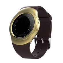 Full Round Thin Display Smartwatch MTK2502 Realm Intellingent Smart Watch With PixArt 2nd-Generation 8002 Heart Rate Monitor