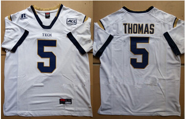 outlet store 842cc b3aac 5 Justin Thomas Jersey Cheap Georgia Tech custom Jersey ...