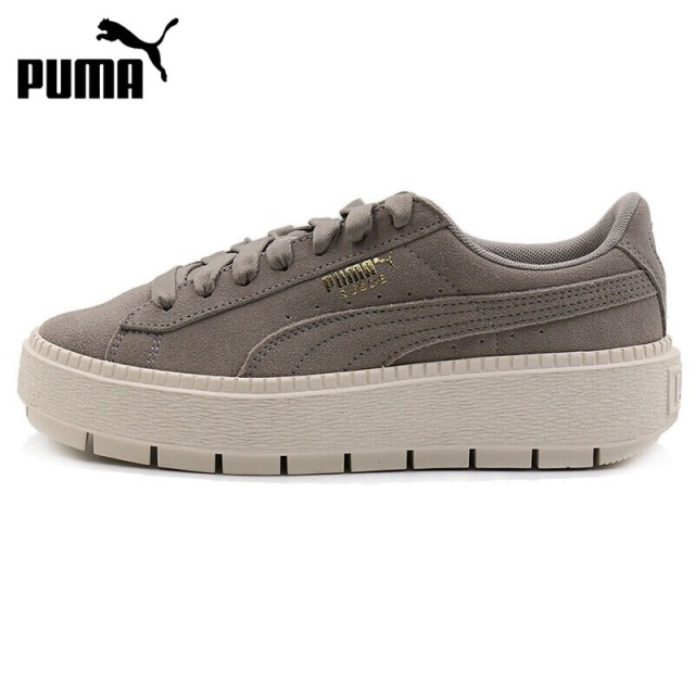 6b29dfb7188 Original New Arrival 2018 PUMA Suede Platform Trace Women's Skateboarding Shoes  Sneakers