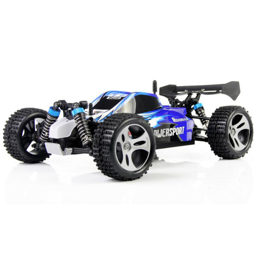 High Speed 1:18 4WD RC Car JJRC A959 Updated Version A959 2.4G Radio Control Truck RC Buggy Highspeed Off-Road new 7 2v 16v 320a high voltage esc brushed speed controller rc car truck buggy boat hot selling