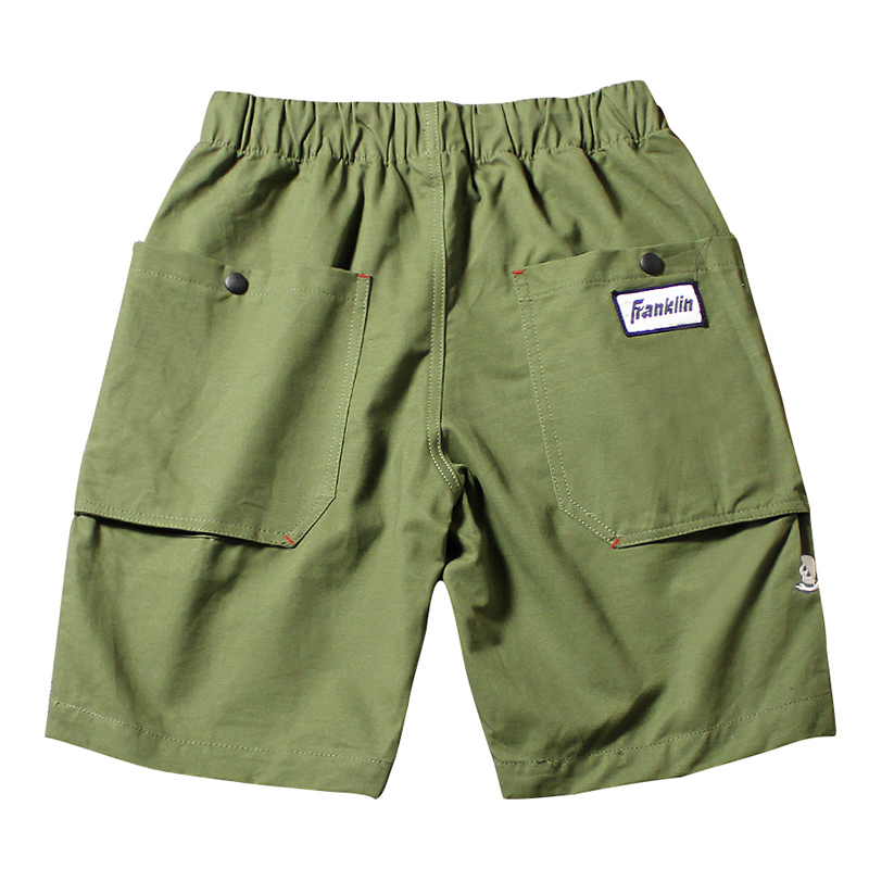 2018 Brand Clothing Fashion Outwear Shorts Men High Quality Cargo Shorts Solid Color Male Shorts Big Pocket Knee-length Shorts