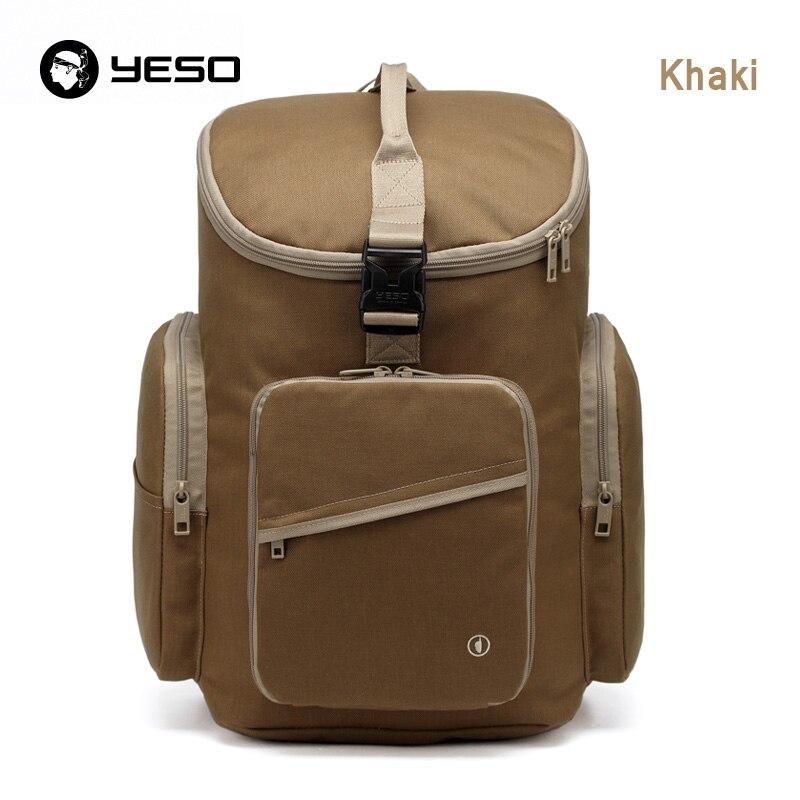 YESO Brand Backpack Women Waterproof Nylon Folding Backpack Men School Bags For Teenagers Unisex Backpacks Vintage Travel Bags