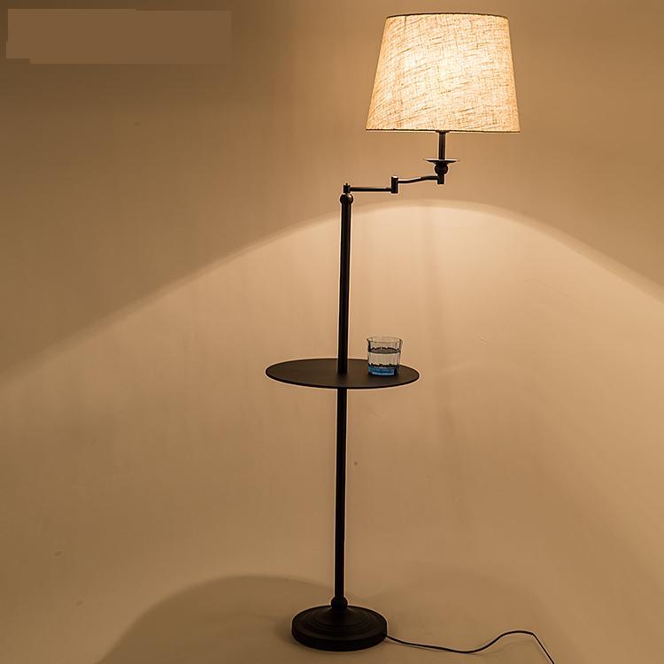 FäHig A1 Die Amerikanischen Minimalistischen Neue Studie Die Wohnzimmer Schlafzimmer Lampe Vertikale Boden Lampe Tisch Lampe Fernbedienung Ablage Fg545 Licht & Beleuchtung