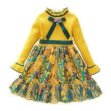 0d57ee846e6ab5 Herbst Winter Brief Stricken Kleid Mädchen druck Kleid Pullover baby mädchen  kleidung für Geburtstag party Kinder bebe Weihnacht.