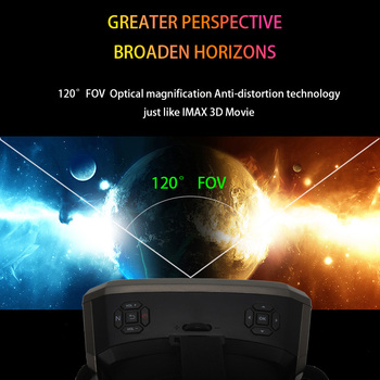 Wi-Fi 2K HDMI All in One 360 Degree Virtual Reality Glasses Immersive VR Headset 3D Android Cardboard with Controller 2GB/16GB 5