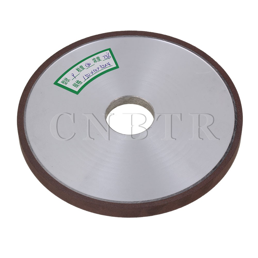 цена на CNBTR 150x10x32mm Dia Aluminum Resin Diamond Flat Disc Grinding Wheel Grit 180 Cutting