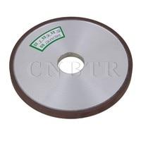 CNBTR 150x10x32mm Dia Aluminum Resin Diamond Flat Disc Grinding Wheel Grit 180 Cutting