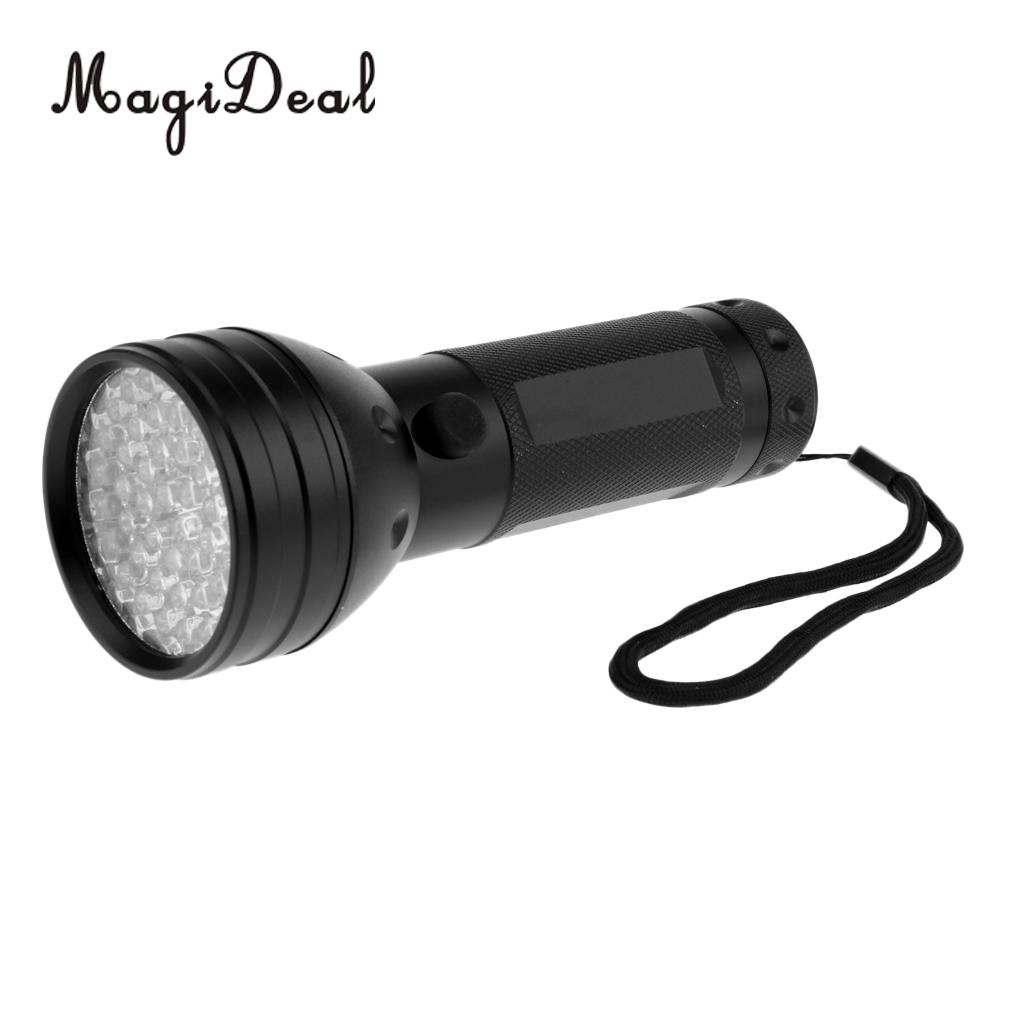 UV Ultra Violet 51 LED Flashlight Blacklight Light 395 nm Inspection Lamp Torch