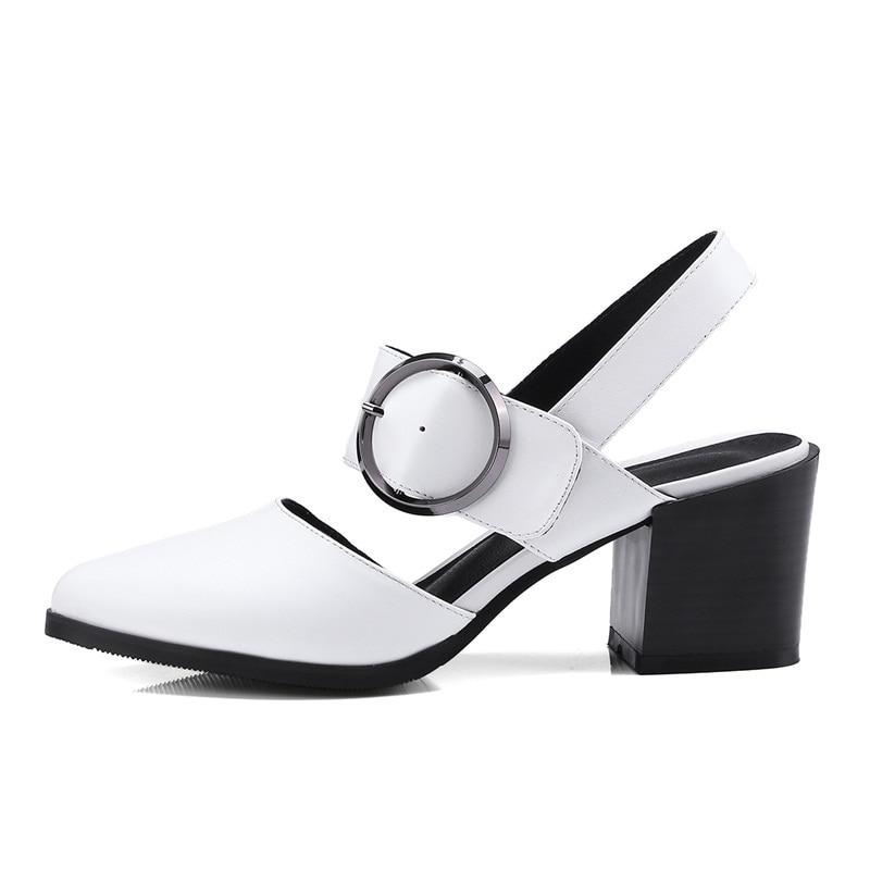 Leder Vankaring Fashion Echtes Sandalen Damen Sommerschuhe F mN8vn0w