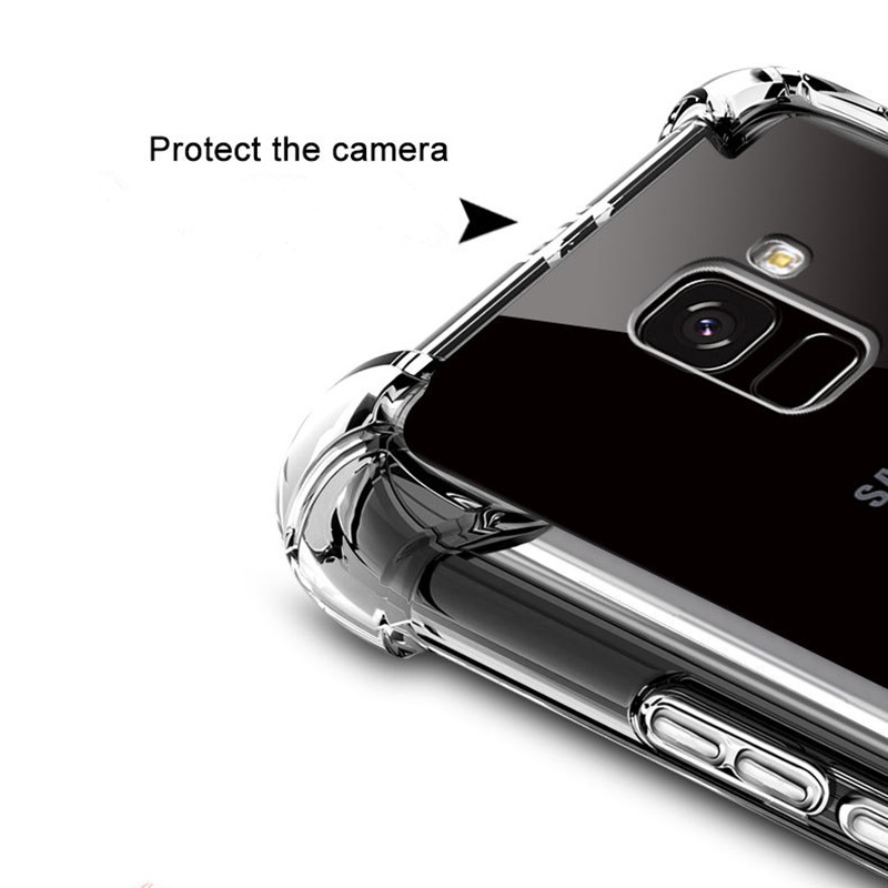 Airbag-Drop-Protection-Case-For-Samsung-Galaxy-A6-2018-Shockproof-Clear-TPU-Cases-For-Galaxy-A6 (1)
