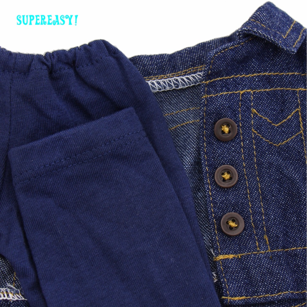 Bonecas alta qualidade jeans de mangas Note : Dolls Are Not Included