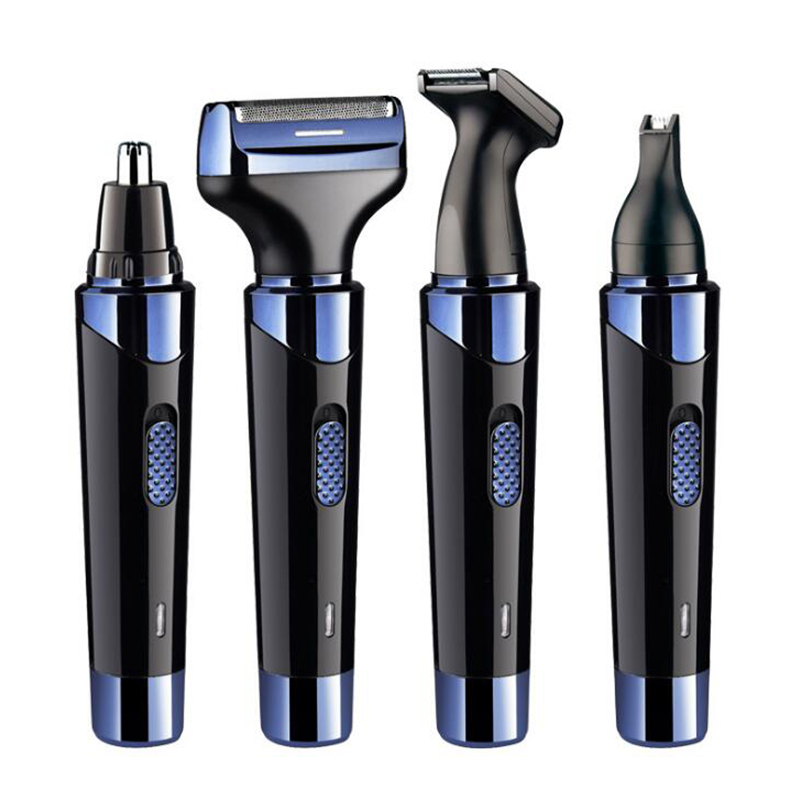 Hedymosa Electric Shaver Nose Hair Trimming Mane Styling Eyebrows Beard Multifunction 4 IN 1 Whole Family Available 110-240V