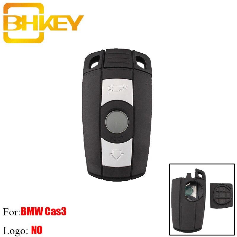 BHKEY Remote-Key Keyless-Fob 3buttons Smart-Blade 6-Series E60 For BMW Cas3 E91 KR55WK49127