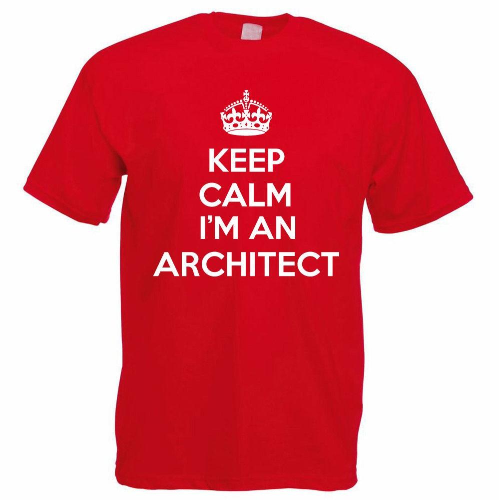 Shirt design cheap - Company T Shirt Design Keep Calm I M An Architect