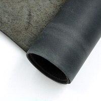Кожа художественных промыслов crazy horse кожа черный цвет из коровьей кожи первый слой материала 1,0-2,0 мм Толщина 6 размер для выбора