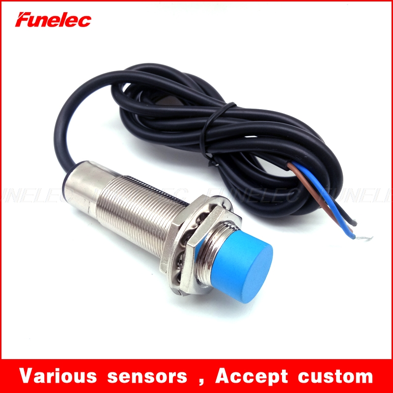 M18 Extended High Temperature Inductive Proximity Sensor Switch NPN NO PNP  ...